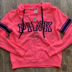 Victoria's Secret Pink 1/4 zip up Sweatshirt